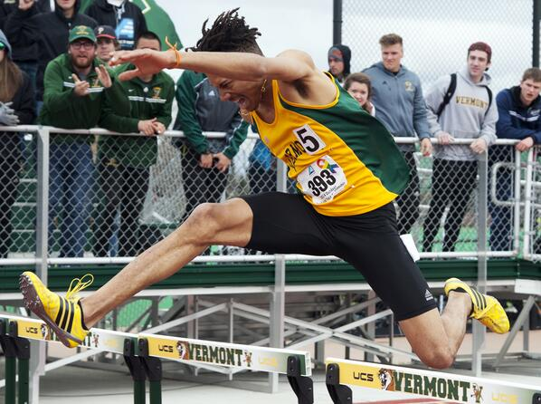 "Hej @martinkallur ""@UVMAthletics: Mallory Duncan captured the 400m hurdles for the 2nd straight season. #VCats"
