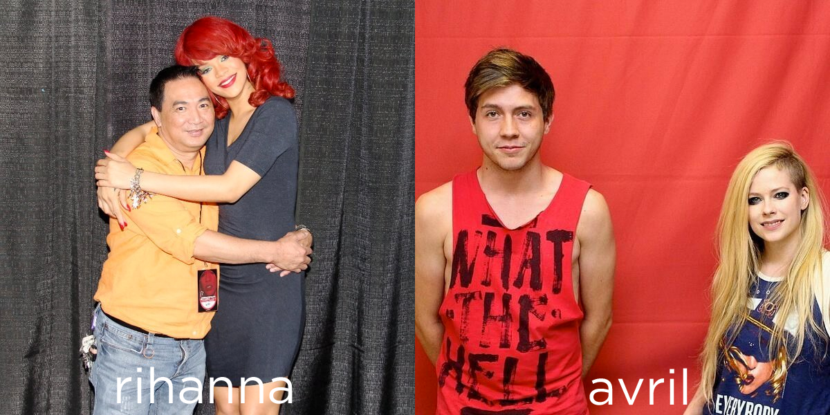 rihanna vs avril meet and greet