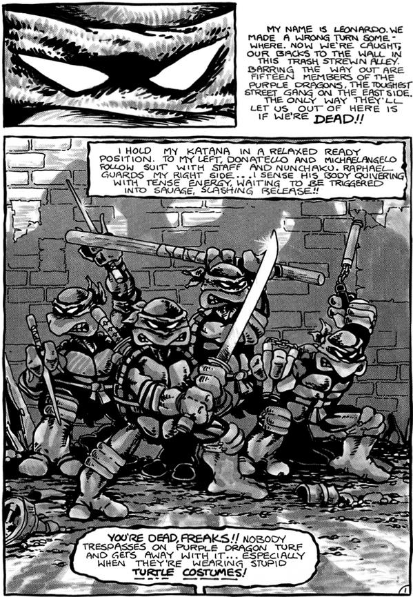 30 years ago today, the Teenage Mutant Ninja Turtles debuted! Happy 30th, dudes! http://t.co/uT6b1nn5Jt