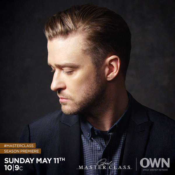 .@JTimberlake is kicking off a new season of #MasterClass. RT if you're ready to see him like you never have before! http://t.co/QPtun64Rwh