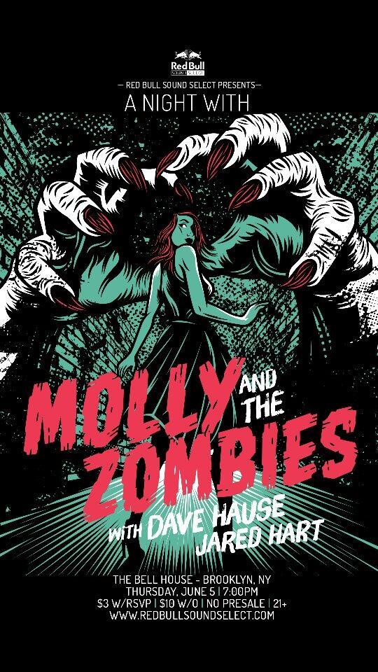 Molly and the Zombies 6/5 Brooklyn Red Bull Show Bm5oekJIQAAvwUc