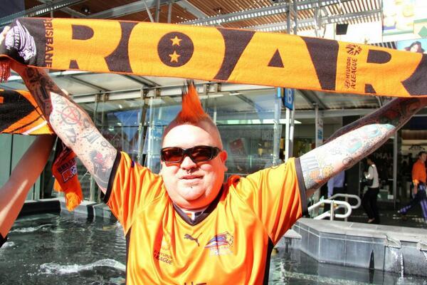 Jason is in #Brisbane Queen Street Mall for Brisbane #Roar ticker tape parade @abcnews @612brisbane http://t.co/qAKWRpgKEm