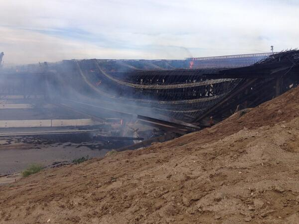 RANCHERO(Update): Significant collapse has occurred. All personnel accounted for. ^eas http://t.co/xOfEI7Cs0n