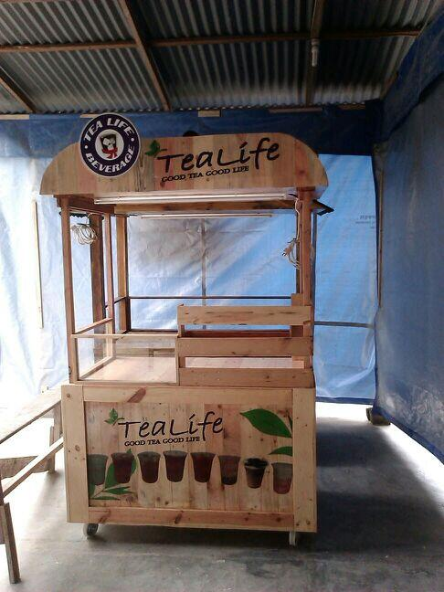 "GerobaKaki5 on Twitter: ""Booth pallet tea life http://t.co"