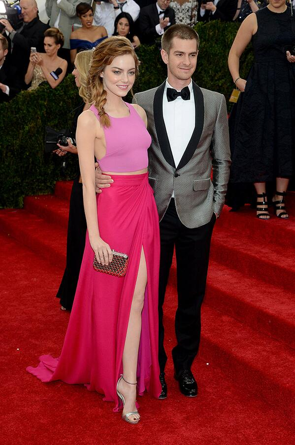 Emma Stone and Andrew Garfield rock the #MetGala2014 red carpet: http://t.co/Zd1kv2dDGG #Metball2014 #Spiderman http://t.co/zSke8m1r1U
