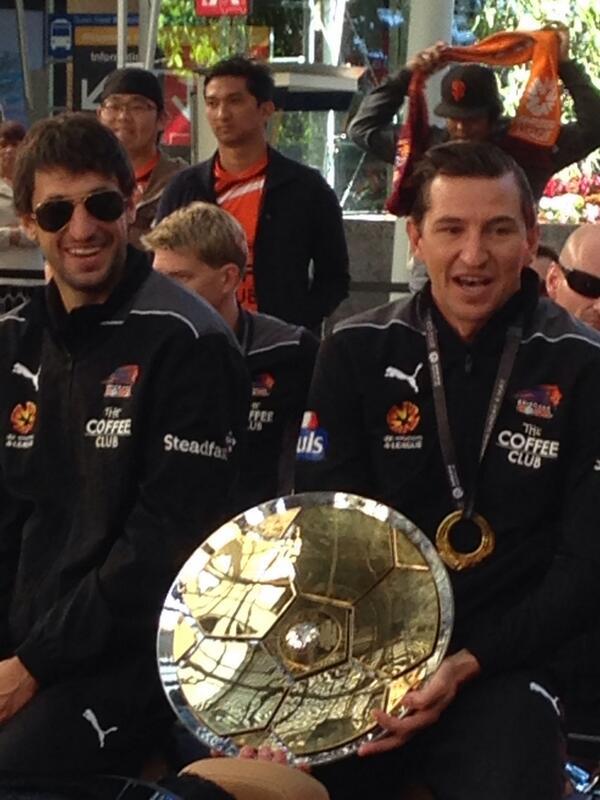 Champions Brisbane #Roar http://t.co/GD5HIzOkKA