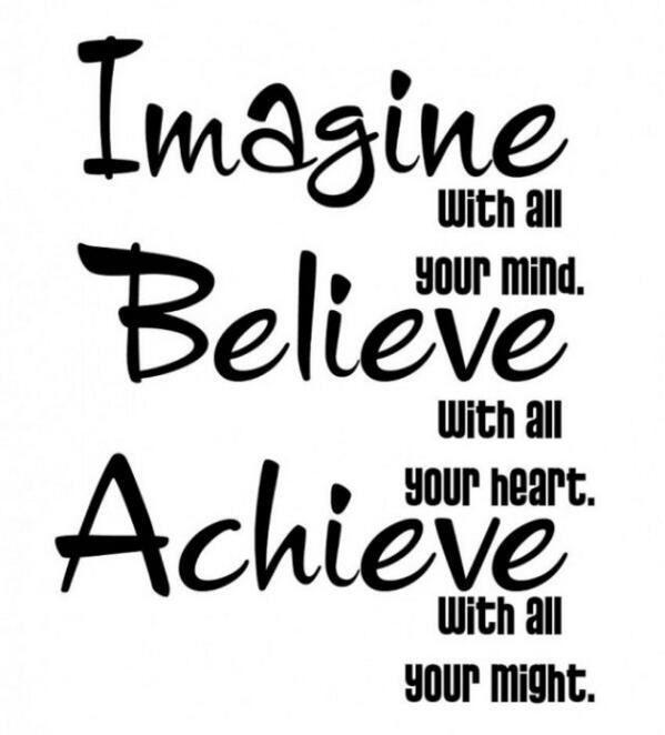 "#TrueQuote "" @DaRealPepa :Good morning Twitter fam! Retweet and fav if you imagine,believe and WILL achieve! #success http://t.co/VKHnjjLrGP"