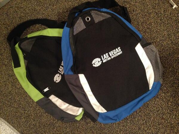 Want to win a #LasVegas Motor Speedway backpack? RT before 4 p.m. (PST) TODAY to be entered to win! #NASCAR http://t.co/3NvZXV3kfc