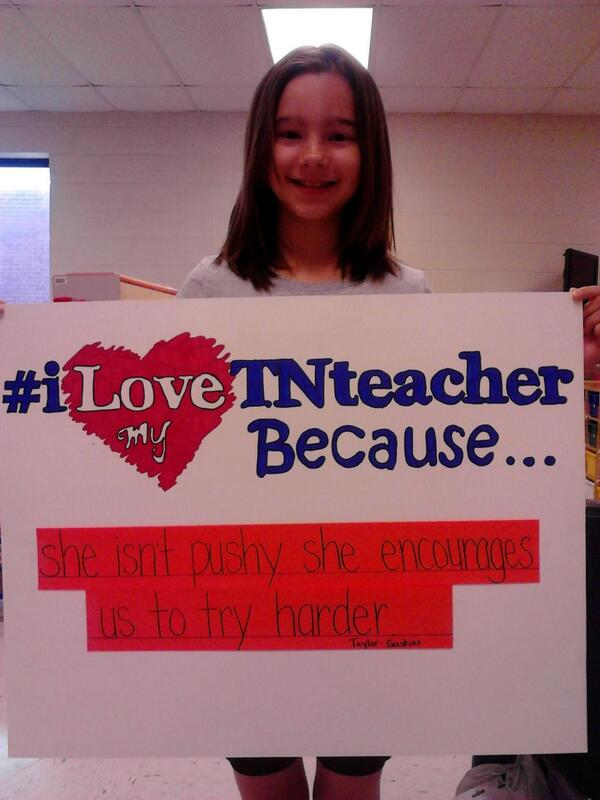 #iLoveTNteachers #ThankATeacher Taylor loves Mrs. Gaskins and here's why! http://t.co/rPpndP6KSv http://t.co/tIQqNZeHj8