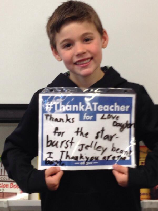 @lindseyrsmith Dayton #ThankATeacher http://t.co/vUcXqMTReL