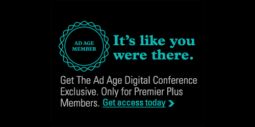 Premier Plus Members get the most buzzed about content from the Ad Age Digital Conference. http://t.co/RAaNiMqiwC http://t.co/y1KWCXtPru