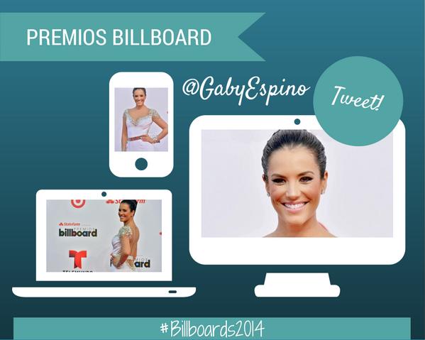 Mencionen a @gabyespino usando el hashtag #Billboards2014 !! RT @LatinBillboards http://t.co/Lcnd44Ddtq
