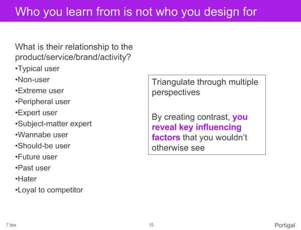 Thumbnail for Steve Portigal: 32 Awesomely Practical UX Tips, Rosenfeld Summit