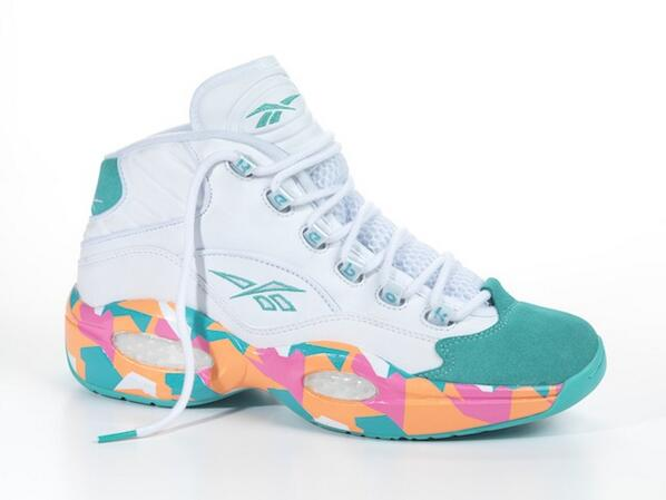 b1dd9c94d16 reebok question mid white noise kicks sneakers reebokclassics