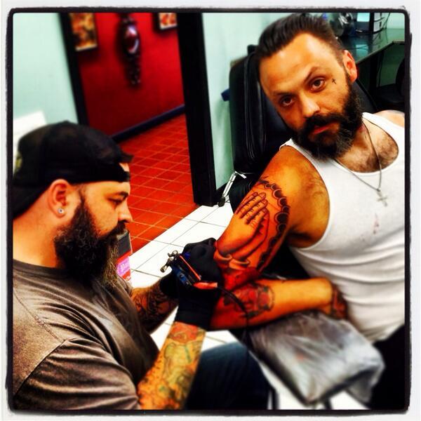 Justin Furstenfeld On Twitter At Markdiehl At Classic Tattoos San