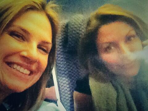 Travel Buddies @kariwuhrer #chillergirls http://t.co/IdBhgGEH5S