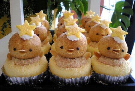 チーズケーキ「ひよこのマーチ」pic.twitter.com/Nvm5FG6xgl