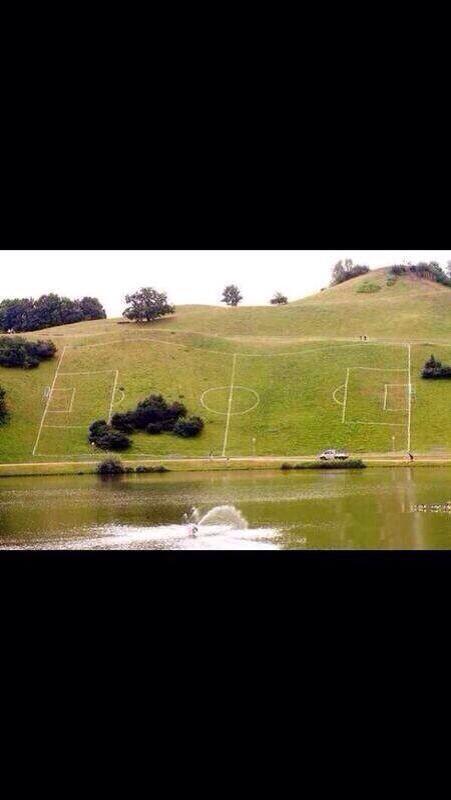 Me llega este primer diseño del nuevo estadio de la @udechile en Laguna Carén ;) http://t.co/pOmFQSvTet