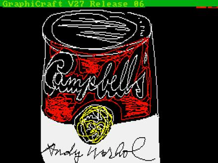 Warhol digital artworks found on floppy disks from 1985: http://t.co/QgbAEgvAgw [via @CreativeReview] http://t.co/o4woijxWN7