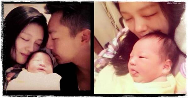 Kim Bum Kim So Eun On Twitter Barbie Xu Gave Birth Yesterday