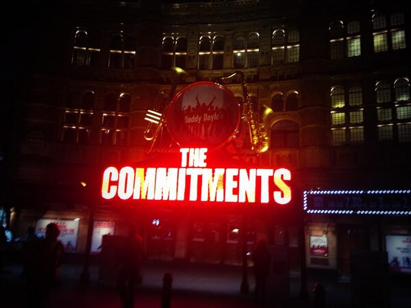 We were #backstage last night with @Thecommitments shooting for our @dotLondon campaign. http://t.co/UIbyix8eMI