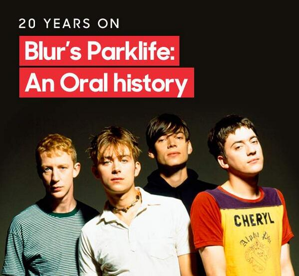 "88c8d285 ""@NME: Blur fans, here's something special... An interactive guide to ' Parklife', 20 years on http://nmem.ag/w9AKW pic.twitter.com/HQJvYXBPXV"""
