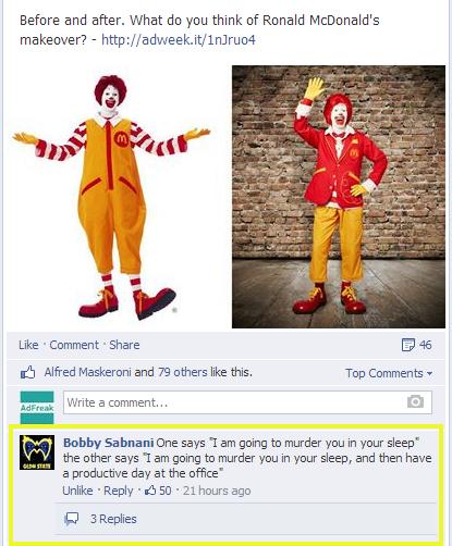 Officially our favorite FB fan comment ever: http://t.co/APgU4ghCiq