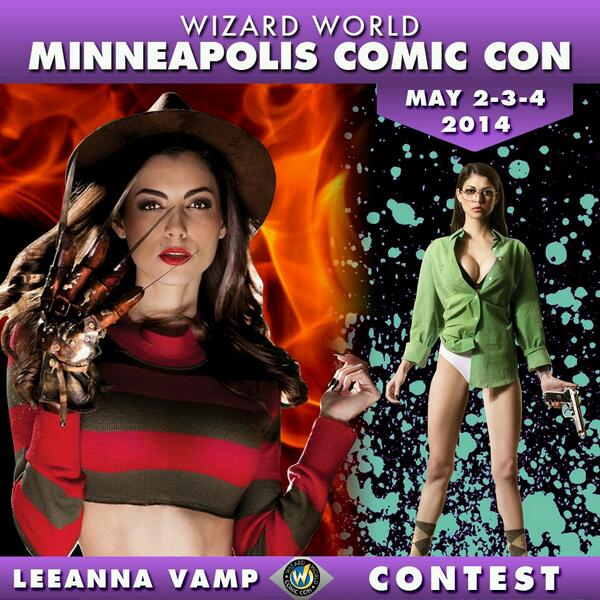 Want a chance to Win a Pair of @WizardWorld VIP Tix to the show!! See you there!! Click Here: http://t.co/glibtenUof http://t.co/eKqY9vEyhk