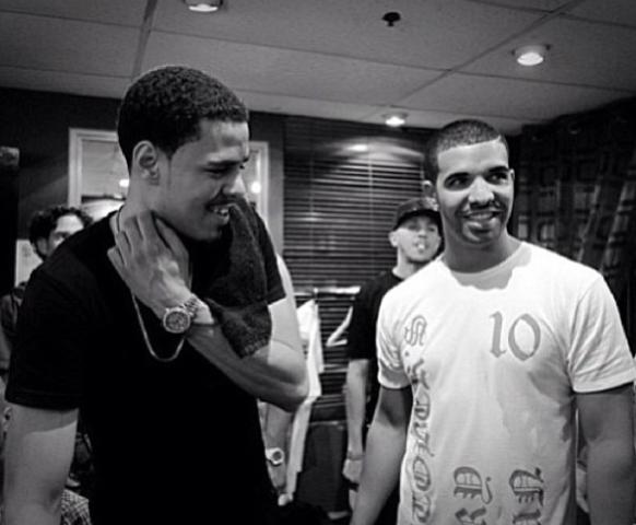 J Cole Eyebrows Vs Drakes The Source Maga...
