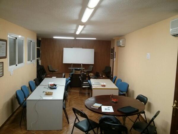 Todo listo para las Jornadas de Periodismo de Datos en Almería #jpd14 #jpd14a http://t.co/nIT48BZbrh