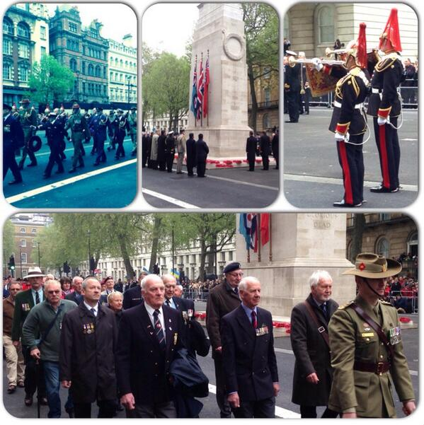 @NZArmy @nznavy fantastic #anzacday  ceremony here in London followed by a moving service at #WestminsterAbbey http://t.co/LMV1QaDOHq