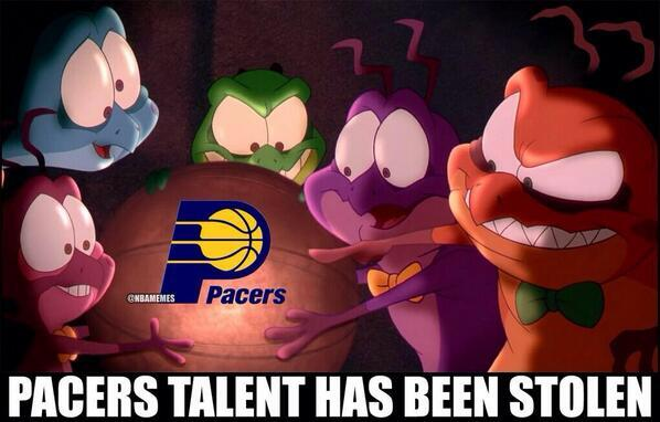 Unless @StephensonLance is the worst locker room cancer ever, this is the only explanation:  (via @NBAMemes) http://t.co/5rOYwMUIDC