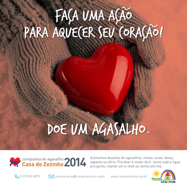 Campanha do Agasalho da CZ! Doe e aqueça seu coração. :) http://t.co/5QCROBnj3n
