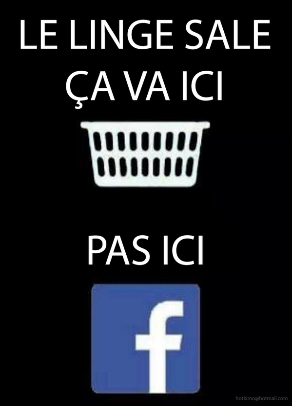 "octavio real on twitter: ""laver son linge sale sur #facebook ? euh"