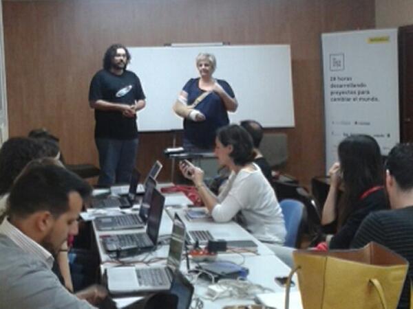 Aúpa Ismael, # HackLab Almería http://t.co/eCQWSi9Aga