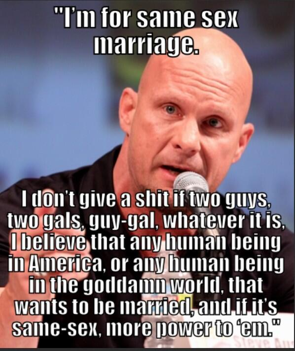 Here is yet another reason why @steveaustinBSR is so fkn awesome