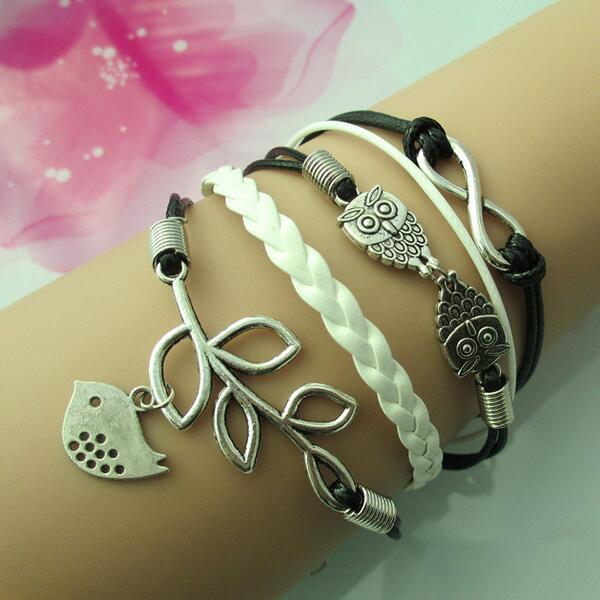 Lucky #owl bracelets     surfer #summer #beach #twitter