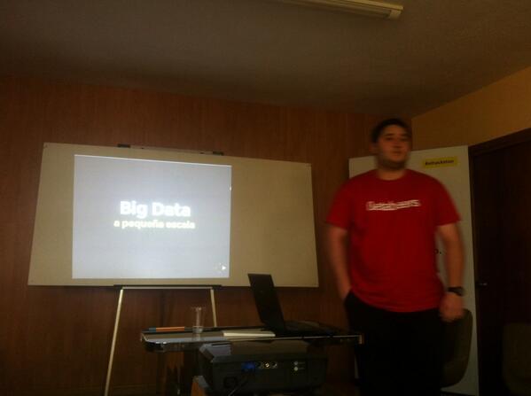 Big Data por un grande; .@javimb9 #jpd14 #jpd14a http://t.co/R222oFIpgQ
