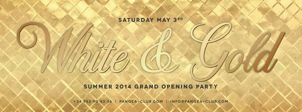 Looks like it's time for an opening party...  Summer 2014 Grand Opening Party - White & Gold https://t.co/0sScWgB29b http://t.co/V3EW4ycRr0