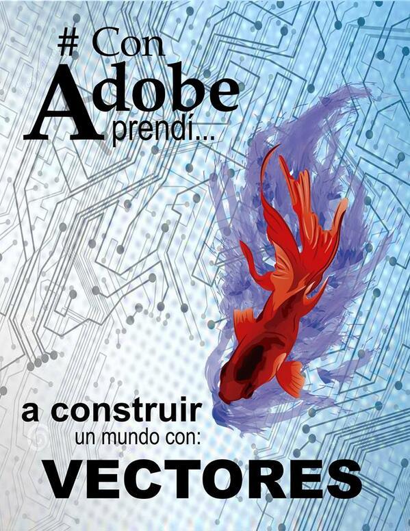 #ConAdobeAprendi a construir un mundo con Vectores @AdobeMx @WacomEspanol @v2bmx @FotoliaMexico @icovermexico http://t.co/7QlX9mzxnc