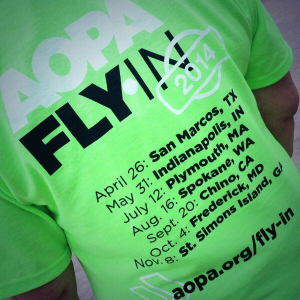 #AOPA Fly-In 2014. 670 planes...2,500 pilots/attendees converge on #HYI ... Oh my!!! #SMTX http://t.co/oJ79VHRWcq