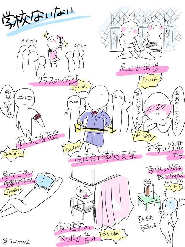 【学校ないない2】  pic.twitter.com/zzt4OHnD0W