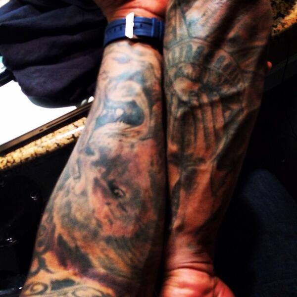 Jeremy Hill On Twitter Whos Tattoo Do You Guys Like Better My