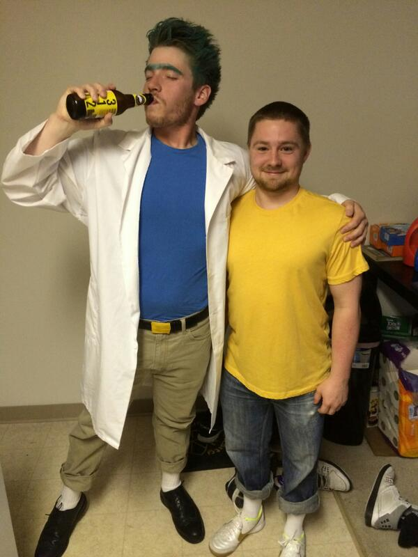 rick and morty on twitter rick and morty cosplay ftw rt