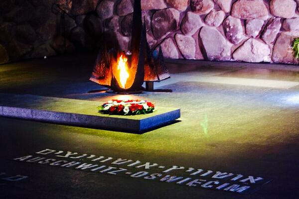 We join #Israel in their commemoration of #Holocaust Remembrance Day this evening. http://t.co/R0zzxhv5zk