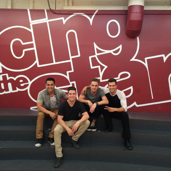 #DWTS  @TheCarlosPena  @HeffronDrive  @jamesmaslow  @PetaMurgatroyd  Dance looks great Can't wait for Monday!!! http://t.co/hgOURI1vM5