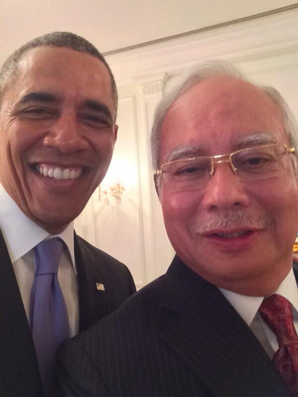 Image result for obama najib