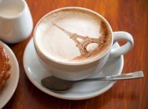 Twitter / JimConnolly: Coffee... Paris style! ...