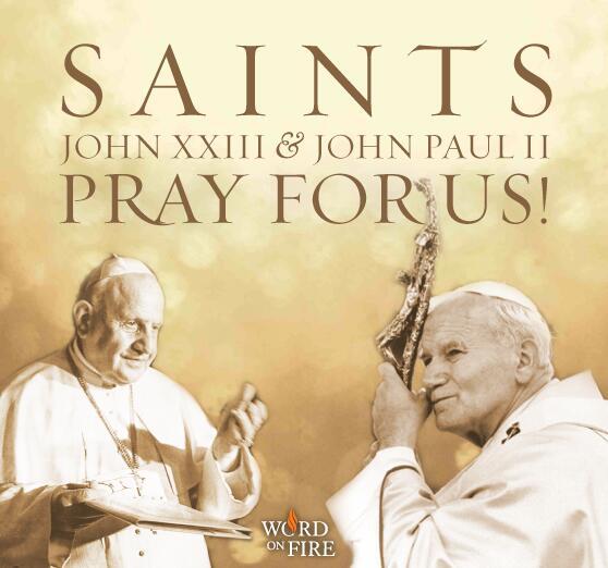 Saints John XXIII and John Paul II, pray for us! http://t.co/iCRBKdKKda
