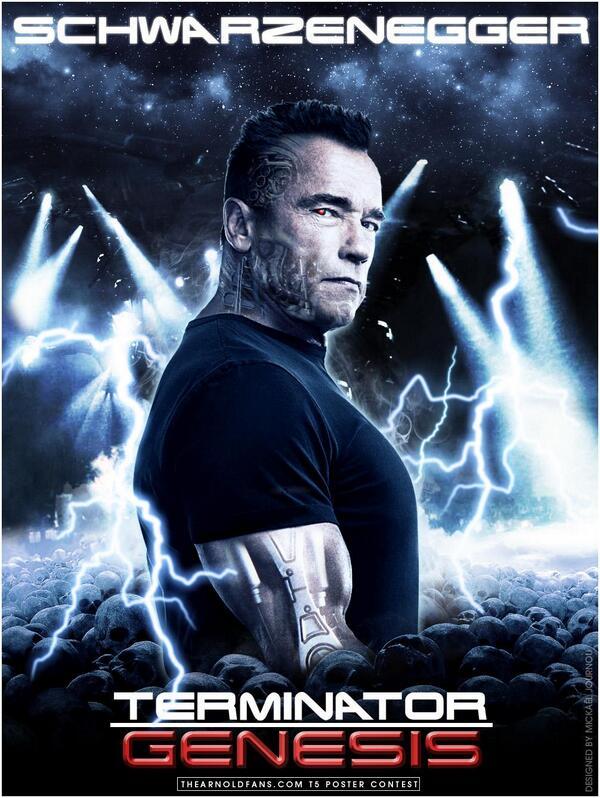 The Arnold Fans On Twitter Fan Made Terminator 5 Schwarzenegger Poster By Mickael Journou Is FAN Tastic Win Prizes Tco IV5okcAaNQ